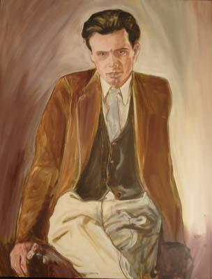 Huxley, Oil on Canvas.